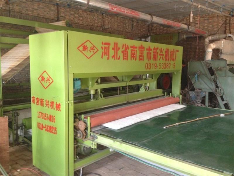 无网棉胎生产流水线