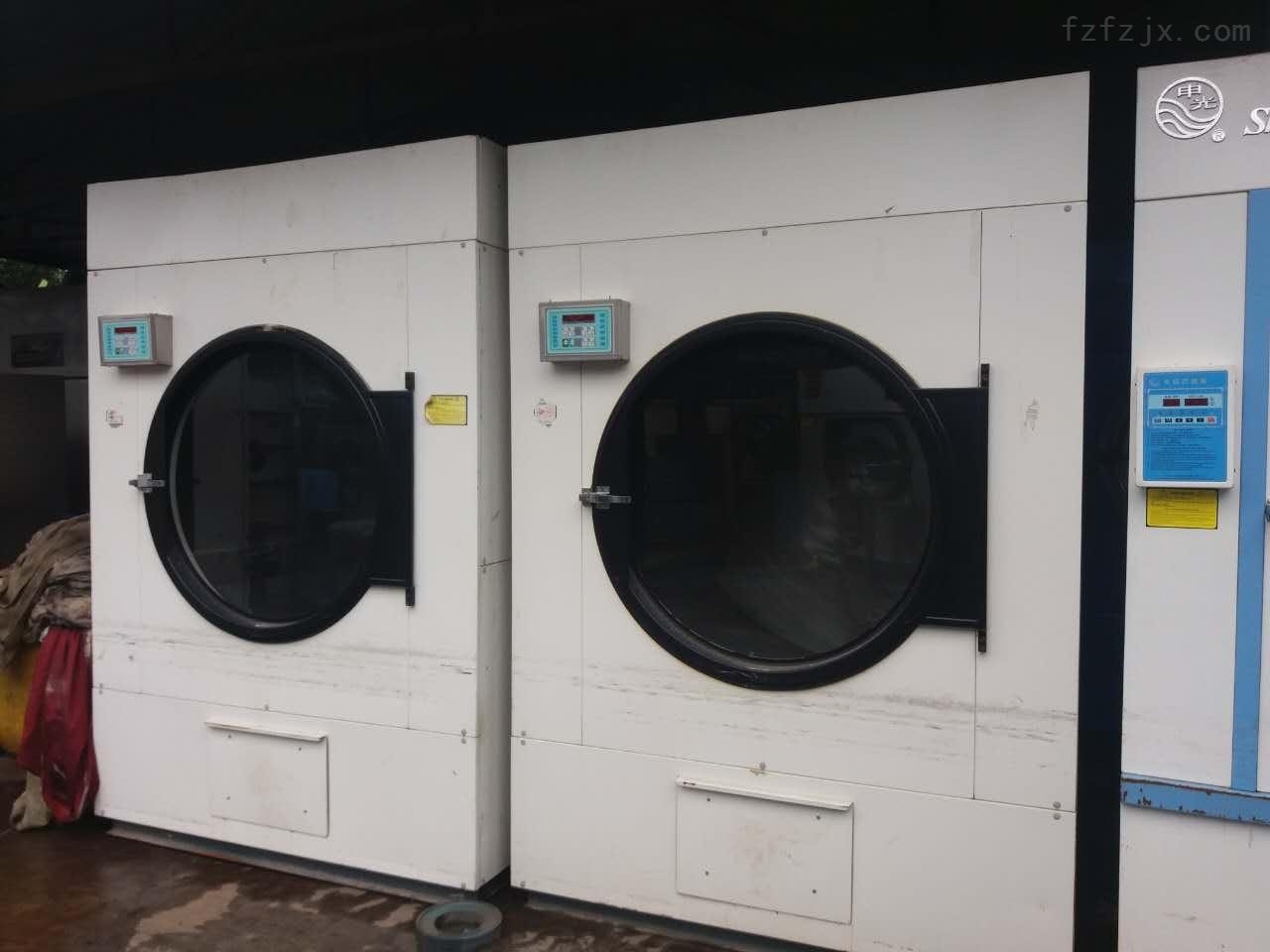 低价处理申光洗衣机100公斤 三滚烫平机